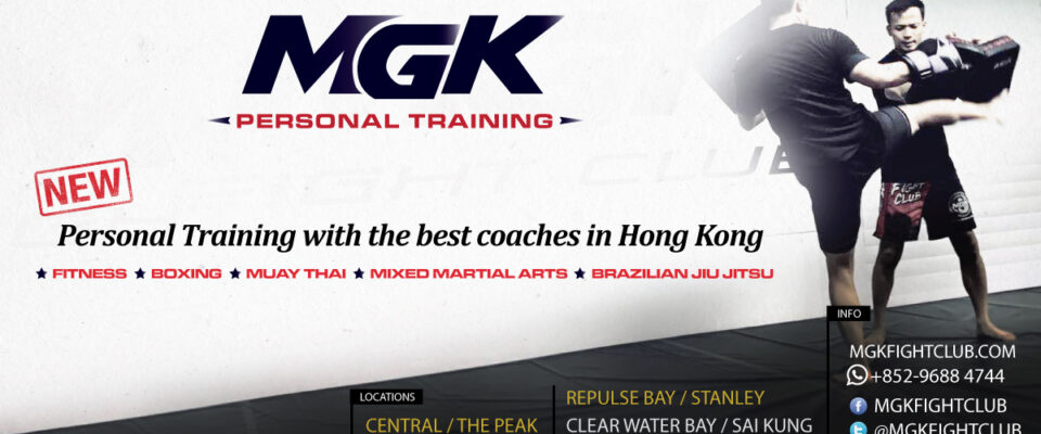 NEW! MGK Personal Training at new locations in Hong Kong